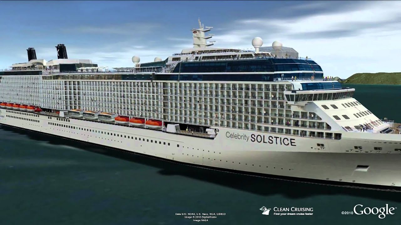Celebrity Solstice Virtual Ship Tour - YouTube