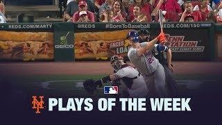 Alonso's 50th HR highlights the Mets Plays of the Week