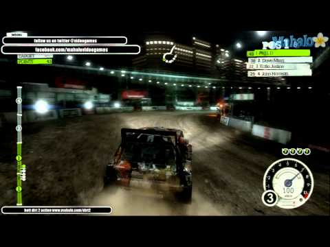 DiRT2 Death Punk Chase Battersea Bridge B [Domination]