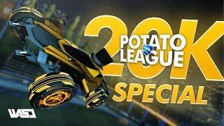POTATO LEAGUE 20k SPECIAL   Rocket League Funny Moments & Fails