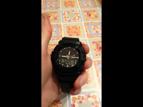 Часы на солнечной батарее с алиэкспресс