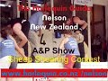 Sheep Shearing Contest A and P Show Nelson New Zealand