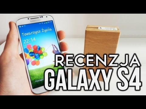 Samsung Galaxy S4 - Recenzja - Test PL (S IV. S 4)
