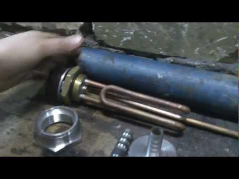 Электроподогрев двигателя: сборка 1