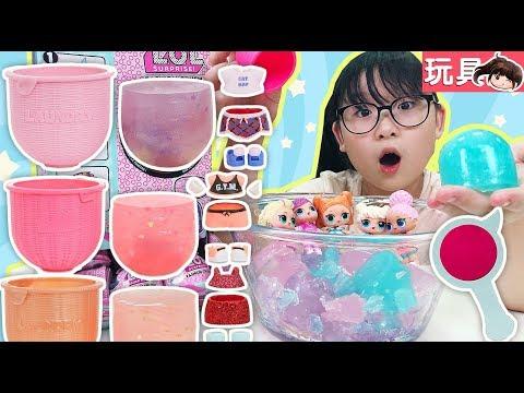 【玩具】LOL驚喜時尚球,驚喜藏在水晶寶寶裡![NyoNyoTV妞妞TV玩具]