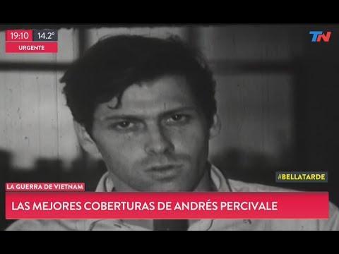 Las coberturas más impactantes de Andrés Percivale