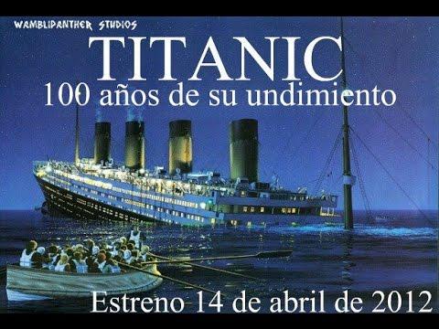 Titanic 100 aniversario del hundimiento loquendo for I salonisti titanic