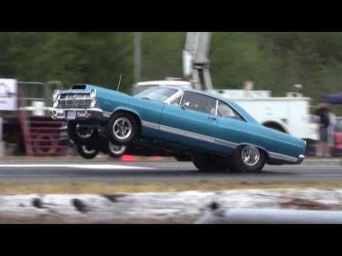 Doorslammer Street Car 67' Fairlane - 2013 Thunder In The Valley, Port Alberni, BC.