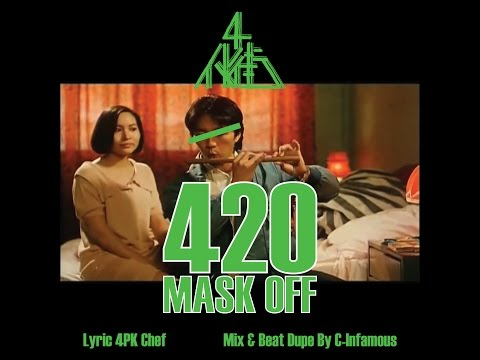 420 Mask Off By 4PK