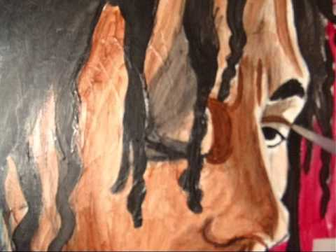 Bob Marley Painting By BB9 Natalie Lynn