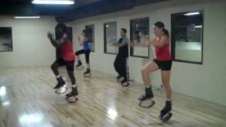"Kangoo Kickboxing with Moses ""Eagle"" James"