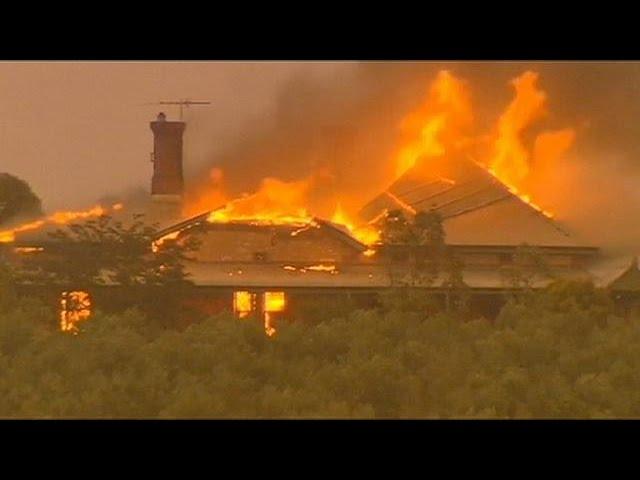 Incêndios devastam sul da Austrália
