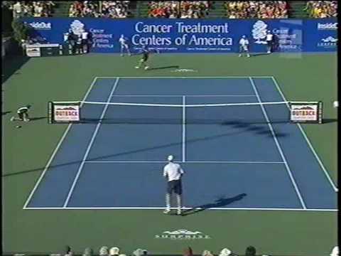 Andre Agassi Vs Todd Martin 9