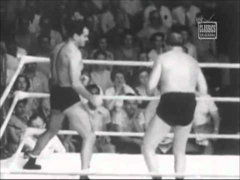 NWA World Heavyweight Championship - Lou Thesz (C) vs. Wild Bill Longson (part 1)