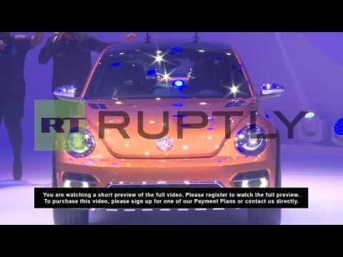 USA: Volkswagen Beetle Dune premieres in Detroit