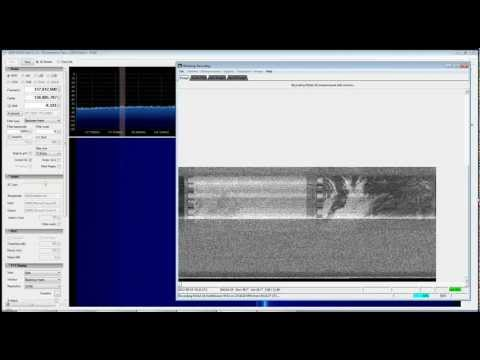 NOAA Satellite Attempt with RTL SDR (RTL2832), SDR Sharp and WXtoImg