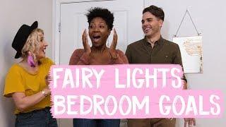 Fairy Lights Bedroom Makeover Goals! | Mr. Kate Decorates