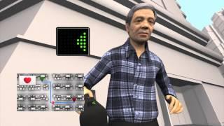 Fuji unveils 'smart' walking stick prototype for the elderly