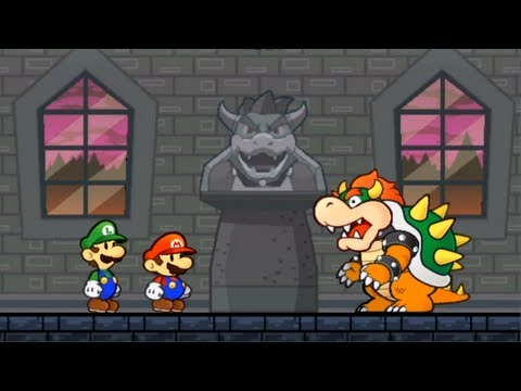 Super Paper Mario - Story Intro