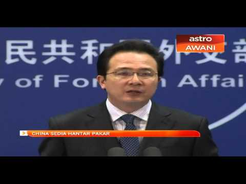 China sedia hantar pakar mengesan MH370