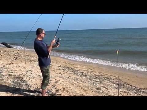 рыбалка на азовском море с берега в сентябре