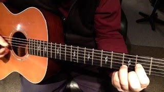 Easy Fingerstyle Songs For Beginners: Song 1- Lesson 1