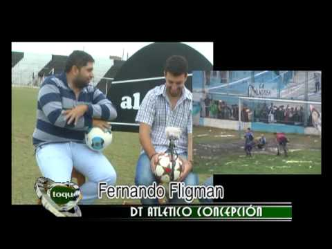 Te presentamos al nuevo dt del León de La Banda del Río Salí, Fernando Fligman que nos visitó en el programa. MIRA LA NOTA.