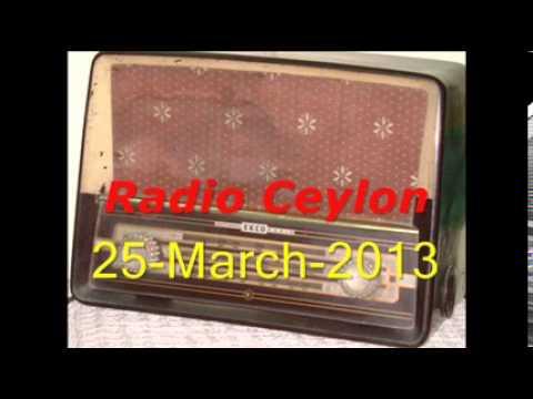 Apni Pasand~Film Sangeet~Radio Ceylon 25-03-2013~Morning~Part-2