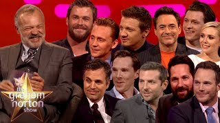 Graham Norton Joins The Avengers!