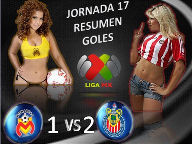 Morelia vs Chivas 1-2 GOLES RESUMEN Jornada 17 Apertura 2014 Liga MX HD
