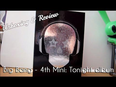 Big Bang - 4th Mini: Tonight CD Unboxing & Review
