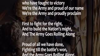 The Army Song Performed By The United States Army Band W Scrolling