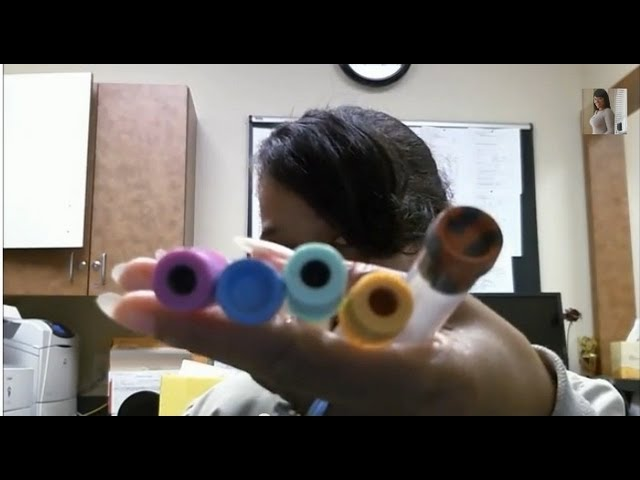Phlebotomy Tubes (Part 1)....what color goes where in the laboratory.