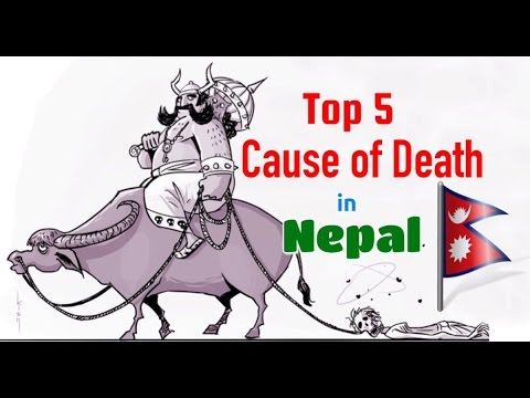 Top 5 Cause of Death in Nepal.