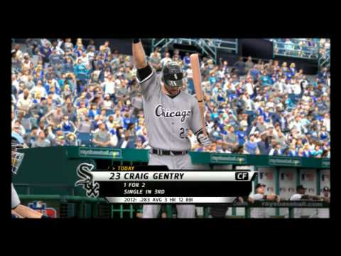 MLB 12: The Show Fantasy Draft TB Franchise gms 49-51 vs CHW