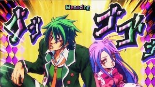 No Game No Life JoJo References