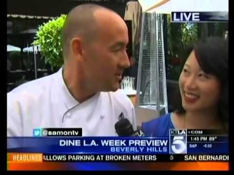 Los Angeles Tourism   KTLA Stacey Sun Interview   July 11, 2012