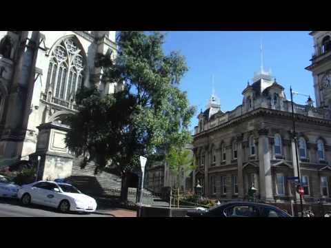 20150116 St Paul Cathdral & Dunedin City Council, Octagon, Dunedin, New Zealand