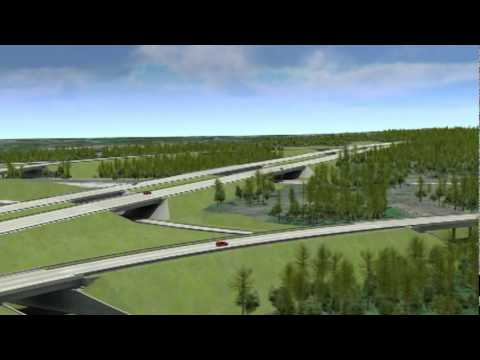 Charlotte Outer Loop - I485 / I85 Interchange - Now Under Construction