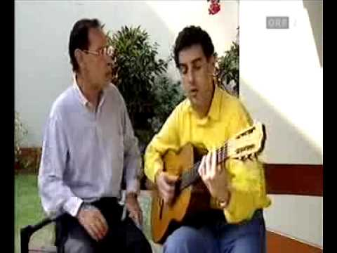 Juan Diego Flórez sings with his father