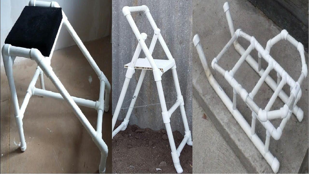 Лестница для бассейна из пластиковых труб своими руками 739