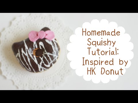 how to make a homemade squishy with foam