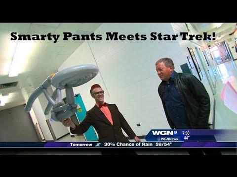 Smarty Pants Meets Star Trek