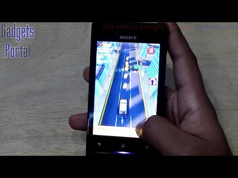 Sony XPERIA MIRO GAMING REVIEW HD by Gadgets Portal