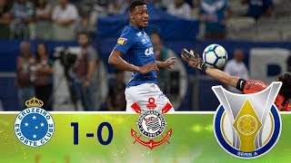 Melhores momentos - Cruzeiro 1 x 0 Corinthians - Campeonato Brasileiro (14/11/2018)
