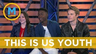 The teens from 'This Is Us' reveal what it's like to run into their older counterparts on set