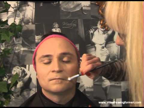Cross Dressing For Men Presents How To Apply Day Wear Concealer Following Foundation Application