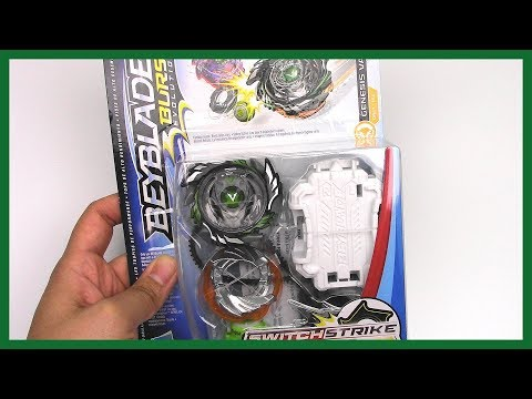 NEW WAVE 2 GENESIS VALTRYEK V3 Unboxing & Review!! Beyblade Burst Evolution SwitchStrike by Hasbro #1