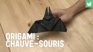 Origami : Chauve-souris En Papier - Hd