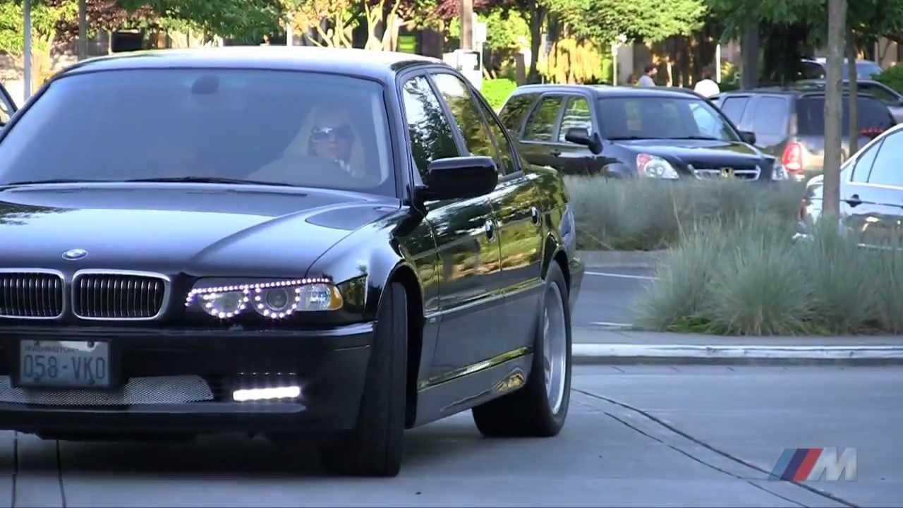 2001 BMW 740i e38 LED Auto Lighting - YouTube